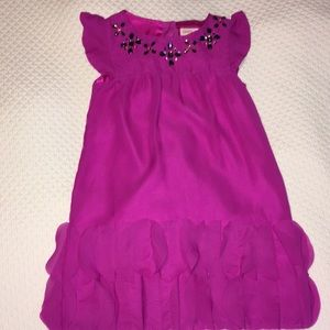 "Magenta ""Flapper"" style dress"